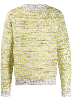 Acne Studios mop inspired knitted jumper