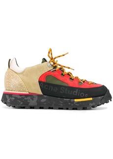 Acne Studios trekking multi-texture sneakers
