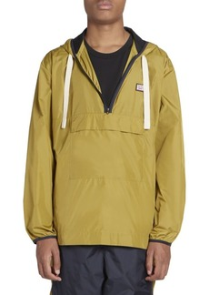 Acne Studios Osaze Nylon Quarter-Zip Hooded Jacket