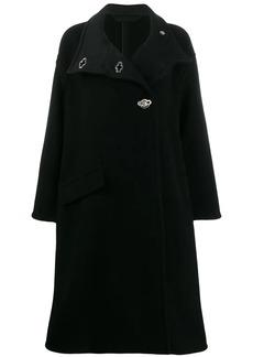Acne Studios oversized A-line wrap coat