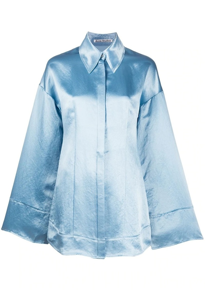 Acne Studios oversized button-up shirt