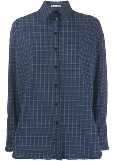 Acne Studios oversized check shirt