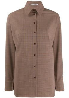 Acne Studios oversized check shirt