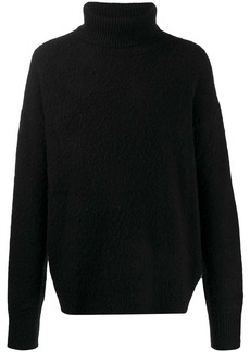 Acne Studios oversized roll-neck jumper