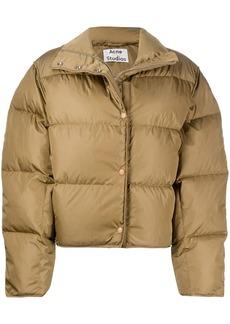 Acne Studios padded cropped jacket