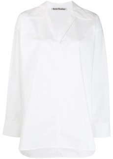 Acne Studios peasant-inspired boxy shirt
