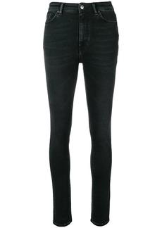Acne Studios Peg high waist jeans