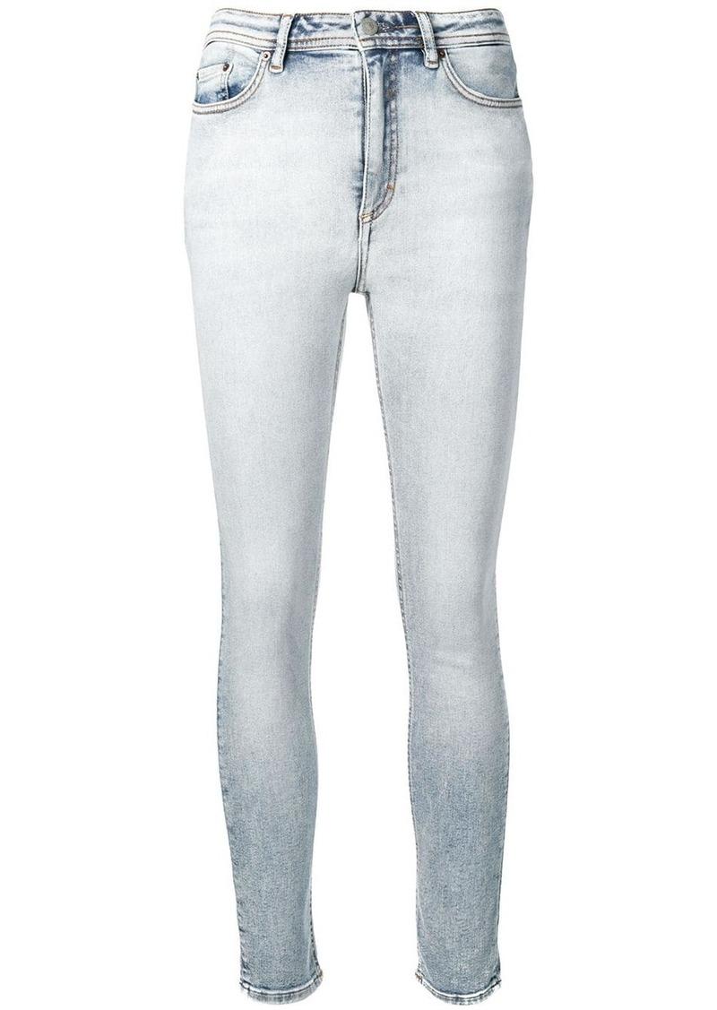 Acne Studios Peg marble wash jeans