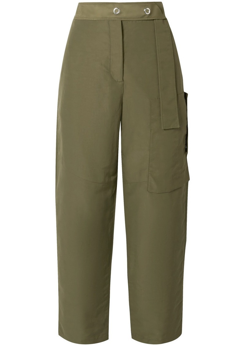 Acne Studios Peganne Coated-canvas Straight-leg Pants