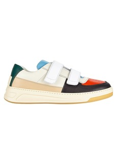 Acne Studios Perey Grip Tape Colorblock Leather Sneakers