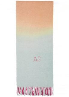 Acne Studios Pink & Blue Kelow Tie Dye Scarf