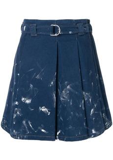 Acne Studios pleated denim skirt