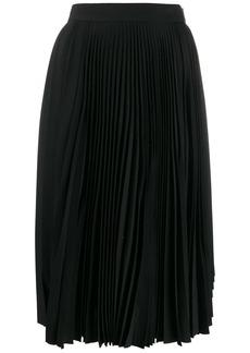 Acne Studios pleated high waisted skirt