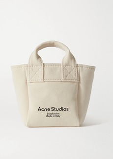 Acne Studios Printed Canvas Tote