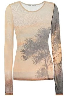 Acne Studios Printed jersey top