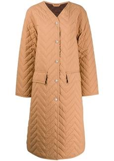 Acne Studios quilted coat