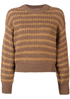 Acne Studios ribbed striped sweater