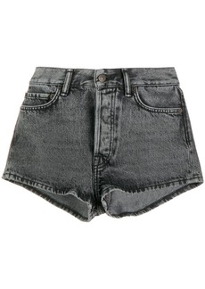 Acne Studios rigid denim shorts