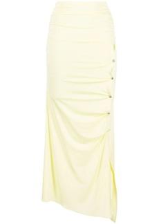 Acne Studios ruched asymmetric skirt