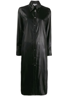 Acne Studios satin shirt dress