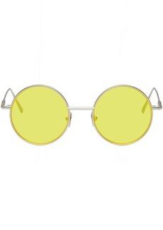 Acne Studios Silver & Yellow Scientist Sunglasses