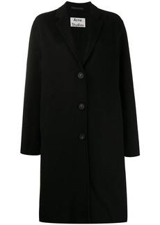 Acne Studios single-breasted midi coat