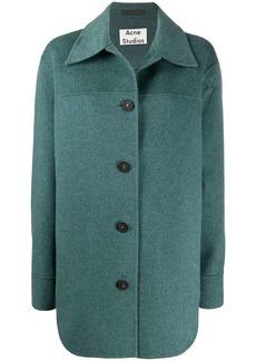 Acne Studios single-breasted oversized coat