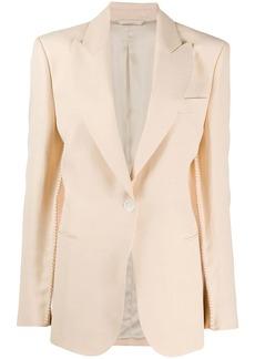 Acne Studios single-breasted sleeve-seam blazer