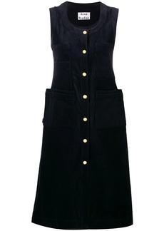 Acne Studios slim fit corduroy dress