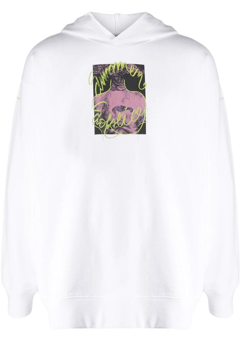 Acne Studios solstice print hoodie