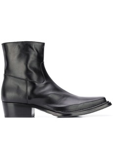 Acne Studios square-toe ankle boots