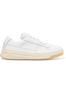 Acne Studios Steffey Logo-embossed Leather Sneakers