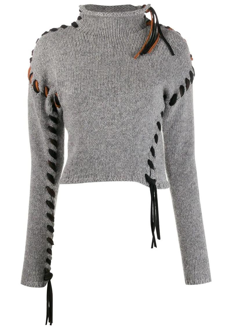 Acne Studios stitched jumper