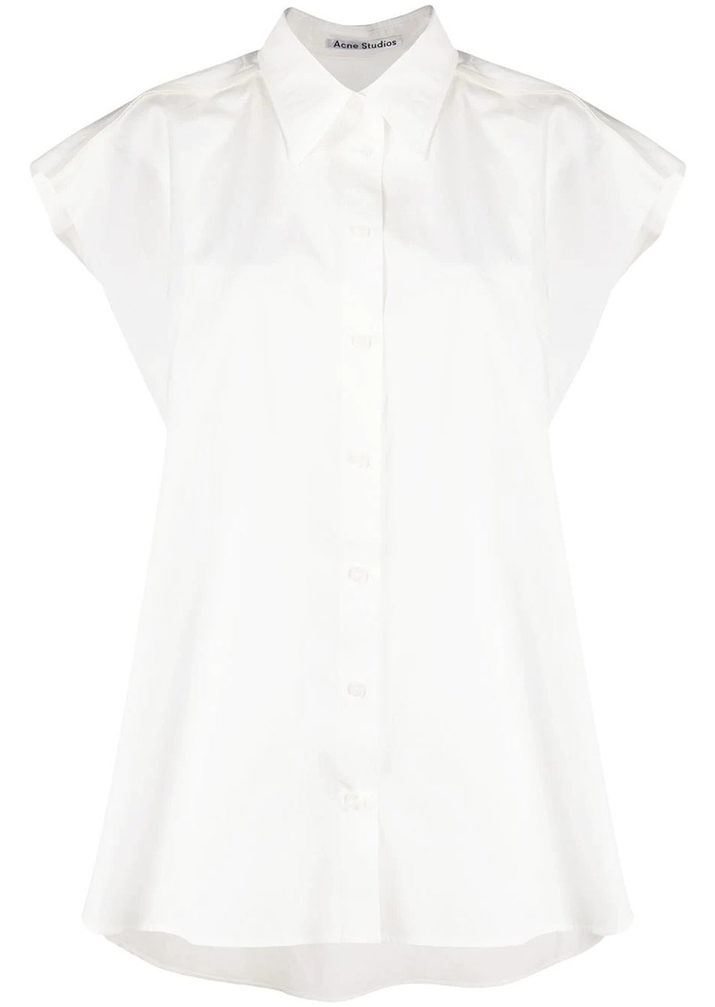 Acne Studios straight sleeveless shirt