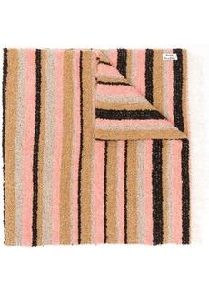 Acne Studios striped boucle scarf