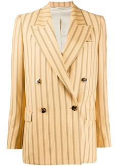 Acne Studios striped double breasted blazer