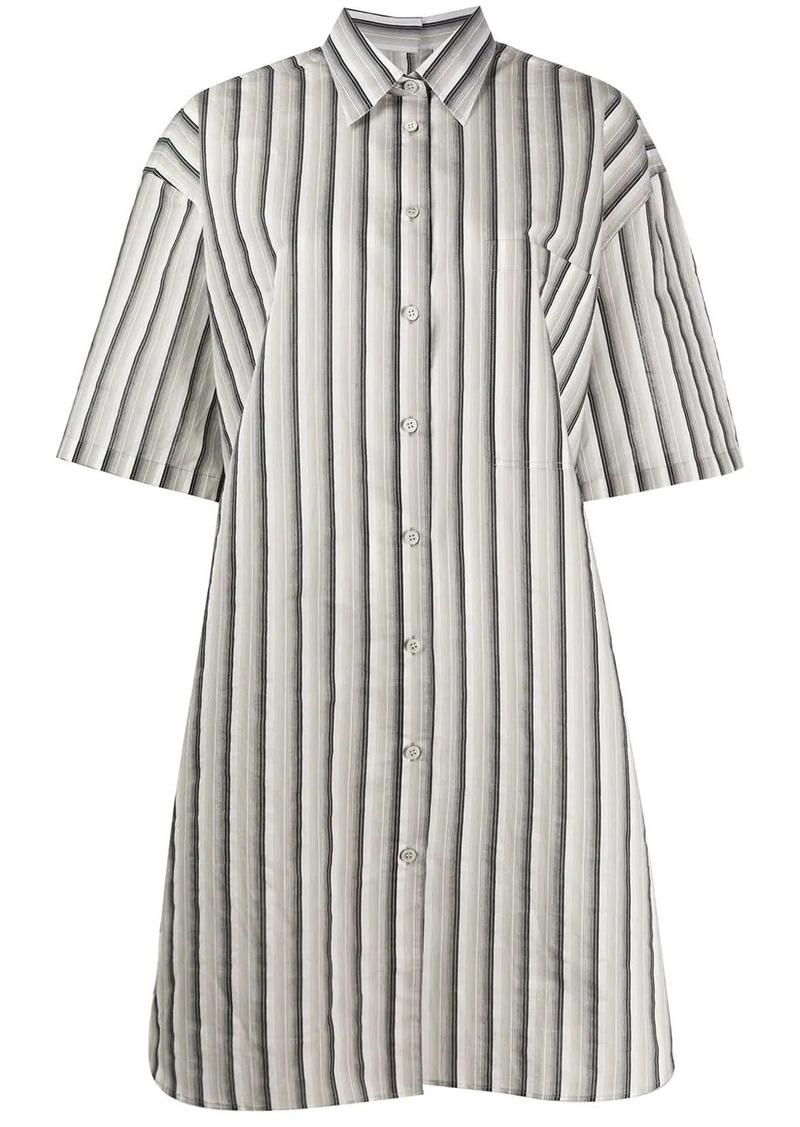 Acne Studios striped shirt dress