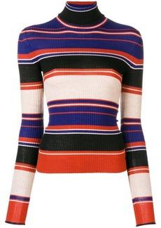 Acne Studios striped turtleneck sweater