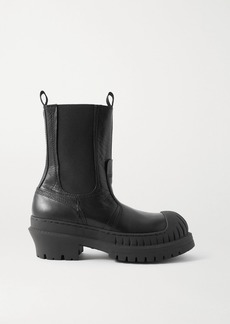 Acne Studios Textured-leather Chelsea Boots