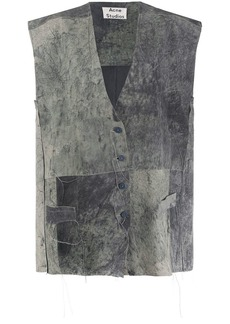 Acne Studios textured oversized waistcoat