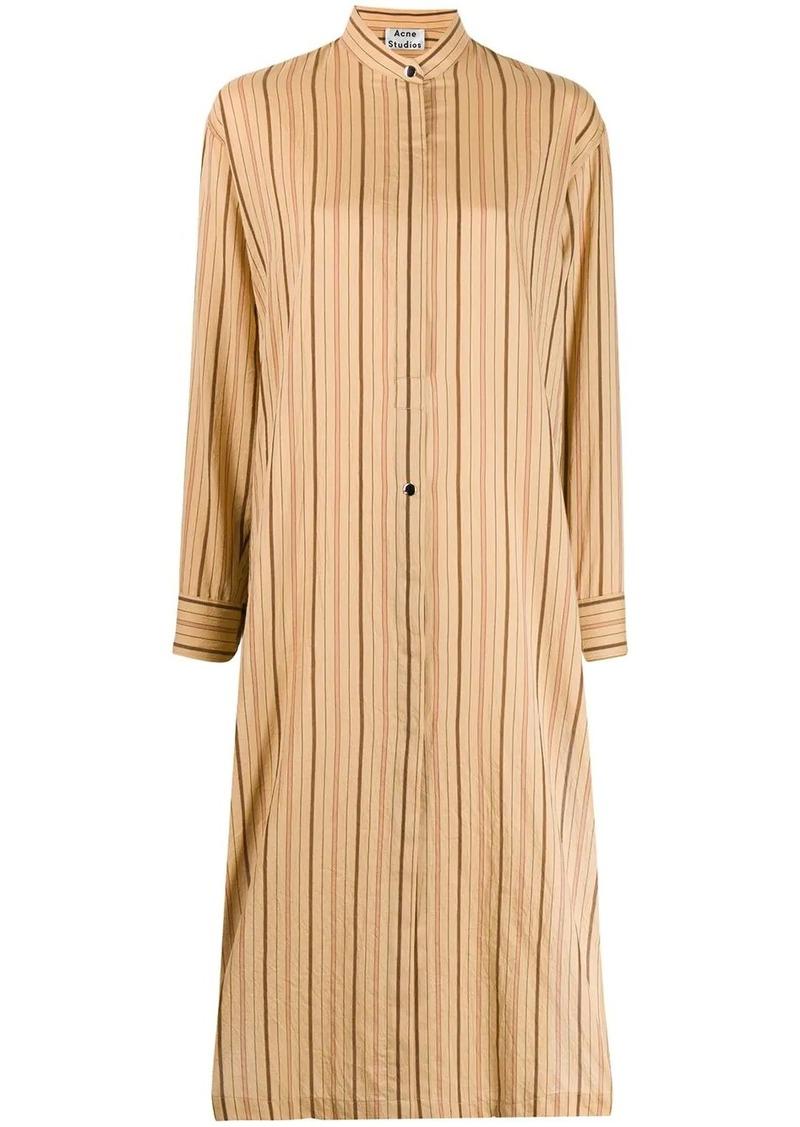 Acne Studios three-quarter tunic dress