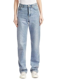 Acne Studios Tisi Denim Sequin Jeans