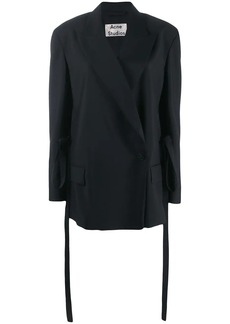 Acne Studios un-structured double breasted tailored jacket