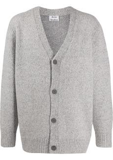 Acne Studios v-neck knitted cardigan