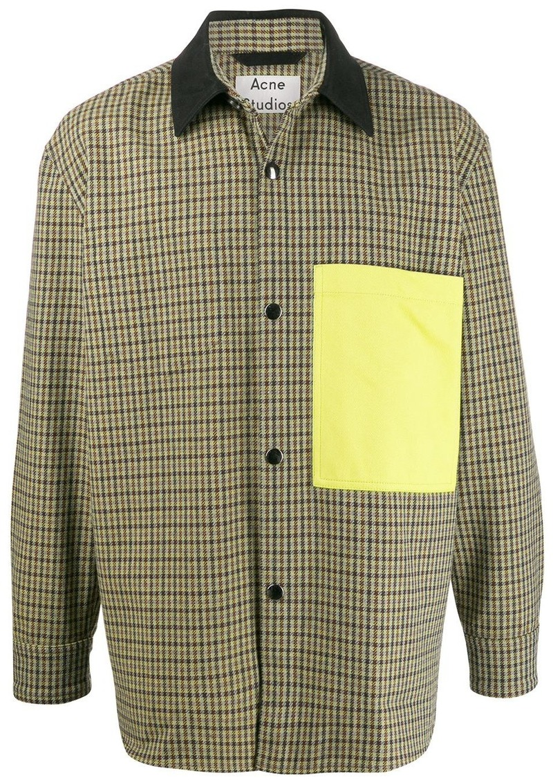 Acne Studios Vichy houndstooth jacket
