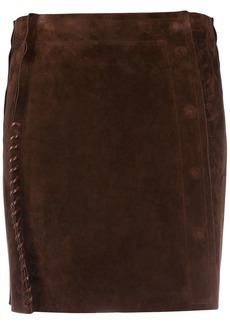 Acne Studios whipstitch mini skirt