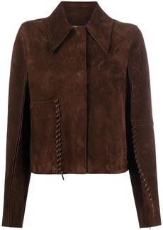 Acne Studios whipstitch suede jacket