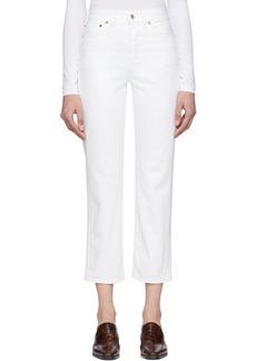 Acne Studios White Blå Konst Mece Jeans