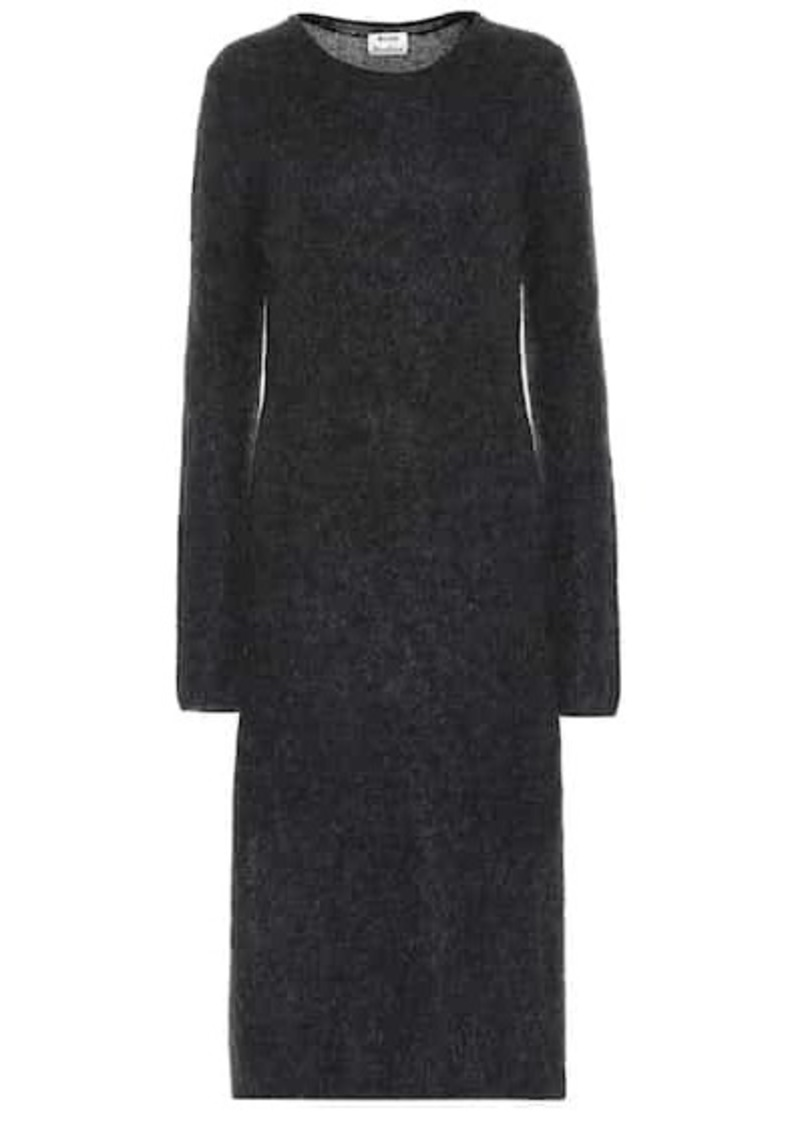 Acne Studios Wool and mohair-blend dress