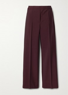 Acne Studios Wool And Mohair-blend Straight-leg Pants